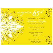 65th birthday invitations u2013 gangcraft net