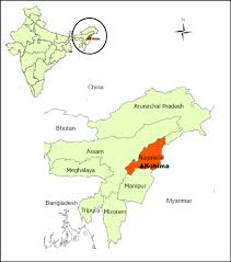 North India Map by Situation Map Of North East India Nagaland And Kohima Nagaland U0027s