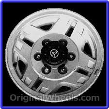 toyota wheel size 1991 toyota truck rims 1991 toyota truck wheels at originalwheels com