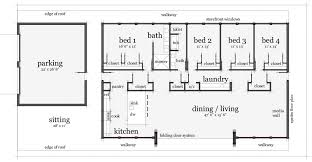 Awesome Picture Of House Plans Rectangular Shape Fabulous Homes Rectangular House Plans 3 Bedroom 2 Bath