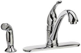amazon com moen ca87480 kitchen faucet with side spray from the
