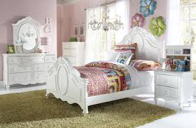 White Girls Bedroom Furniture Ava 4 Piece Twin Bedroom Set White Levin Furniture