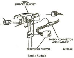 2012 ram 1500 brake light switch how do i identify the 1993 dakota s brake switch wire that is