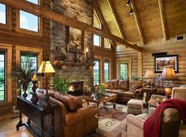 Interior Design Log Homes Endearing Inspiration Idfabriekcom - Interior design for log homes