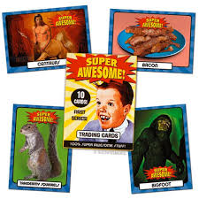 Meme Trading Cards - super awesome retro vintage pop culture meme trading cards