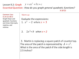 systems of linear and quadratic equations worksheet worksheets