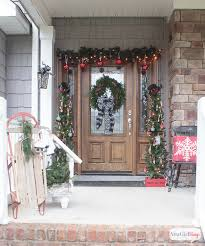 Some Christmas Decorations - schoolhouse inspired vintage christmas decorations