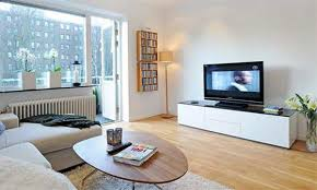 Apartment Living Room Ideas On A Budget Affordable Dark Lacquer Wooden Coffee Table Small Apartment Living