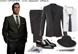 Don Drape Don Draper Style Netrobe Mad Men Pinterest