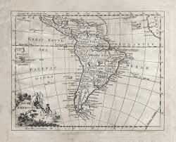 South America Map Islands by 1764 South America Map U2013 Stomping Grounds