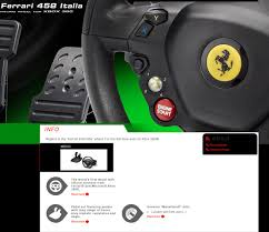 458 italia wheel for xbox 360 thrustmaster 458 italia racing wheel pedal for pc