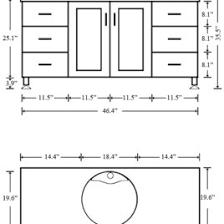 Standard Height Bathroom Vanity by Bathroom Vanity Depth Sizes Full Size Of Bathroom Sinkamazing