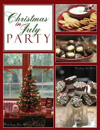 sugar bean bakers christmas in july party