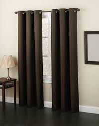 63 Inch Drapes Newfane Woven Textured Grommet Window Panel Shop Your Way