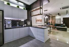 Kitchen Design Malaysia Contemporary Twist For A Bandar Kinrara Terrace House By Moonlit