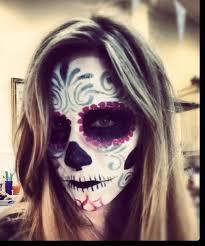 sugar skull makeup tutorial day of the dead dia de los muertos