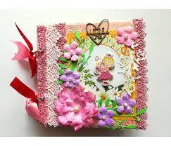 handmade scrapbook albums sparkling baby girl handmade scrapbook album buy handmade cards