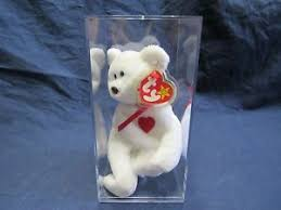 ty valentino retired ty valentino beanie baby with swing tag tush