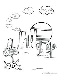 free printable coloring pages for adults landscapes desert coloring pages