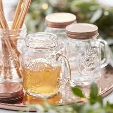 favor jars mini gold wedding favor jars by