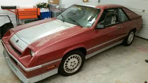 1986 dodge charger shelby turbo for sale 1986 dodge charger shelby hatchback 2 door 2 2l