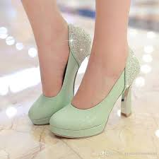 wedding shoes high 2016 mint green pumps high heels wedding shoes toe