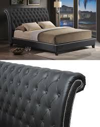 Headboard King Bed Modern Upholstered Beds