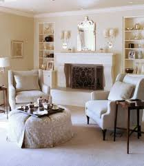 family room designs with fireplace elegant family room decorating ideas with silver framed mirror and