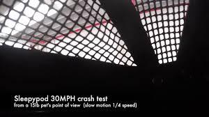 Sleepypod Mobile Pet Bed Sleepypod Mobile Pet Bed Crash Test Inside Pov Youtube