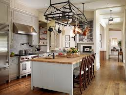kitchen island pot rack lighting above the island pot rack cottage kitchen tim barber