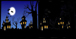 Halloween Backdrop Second Life Marketplace Mw Full Perms 2 Halloween Backdrop Textures