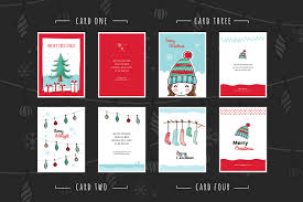 free christmas card templates for photoshop u0026 illustrator brandpacks