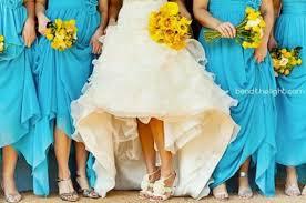 unique wedding colors unique wedding color schemes for every season