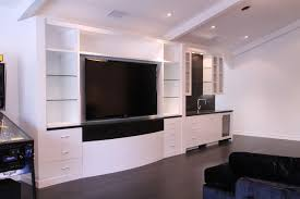 Gloss White Rec Room And Bath Cabinets Contemporary Family - Family rec room