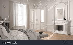 scandinavian room modern scandinavian bedroom classic vintage living stock
