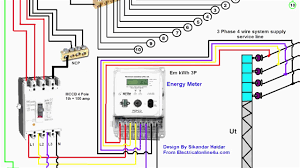 3 phase wire diagram ansis me