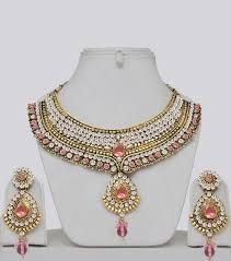 indian wedding necklace sets images Indian bridal jewelry set costume jewellery costume jewelry jpg