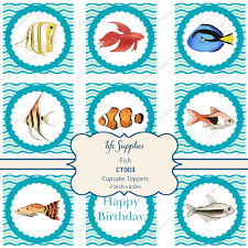 hazel fisher creations new fish printables