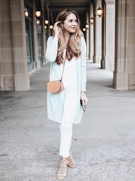 Ashley White by Long Cardigan And White Distressed Denim The Teacher Diva A