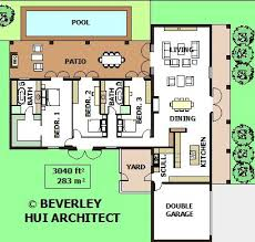 architect designed house plans 20 best t shaped houses plans images on small