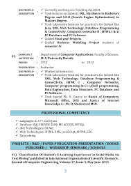 resume masters degree resume priyanka patel 2016