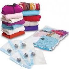 buste sottovuoto per piumoni 5 sacchetti buste sottovuoto 68x98 salva spazio per abiti piumoni