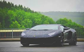lamborghini car black black lamborghini aventador in the rain wallpaper 2441 2560x1600