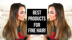 tips when youre bored of straight lifeless hair best products for fine thin hair youtube