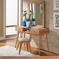 bedroom console table modern vanity makeup table set mirror desk dressing console table