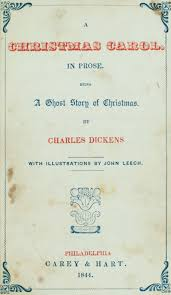 a christmas carol charles dickens first edition