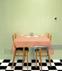 1960s Kitchen 1960s Kitchen Table Stock Photo Getty Images