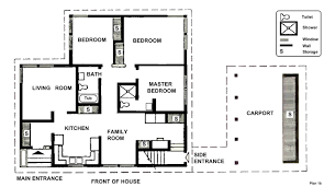 One Story House Plans With Two Master Suites Bedroom Designs Spacious Floor Two Bedroom House Plans Modern
