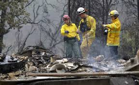 California Wildfire Locations 2015 by Sixth Body Found In Rubble Of Northern California Wildfires