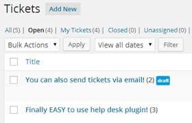 Top 5 Help Desk Software Wordpress Helpdesk Plugin Wphelpdesk